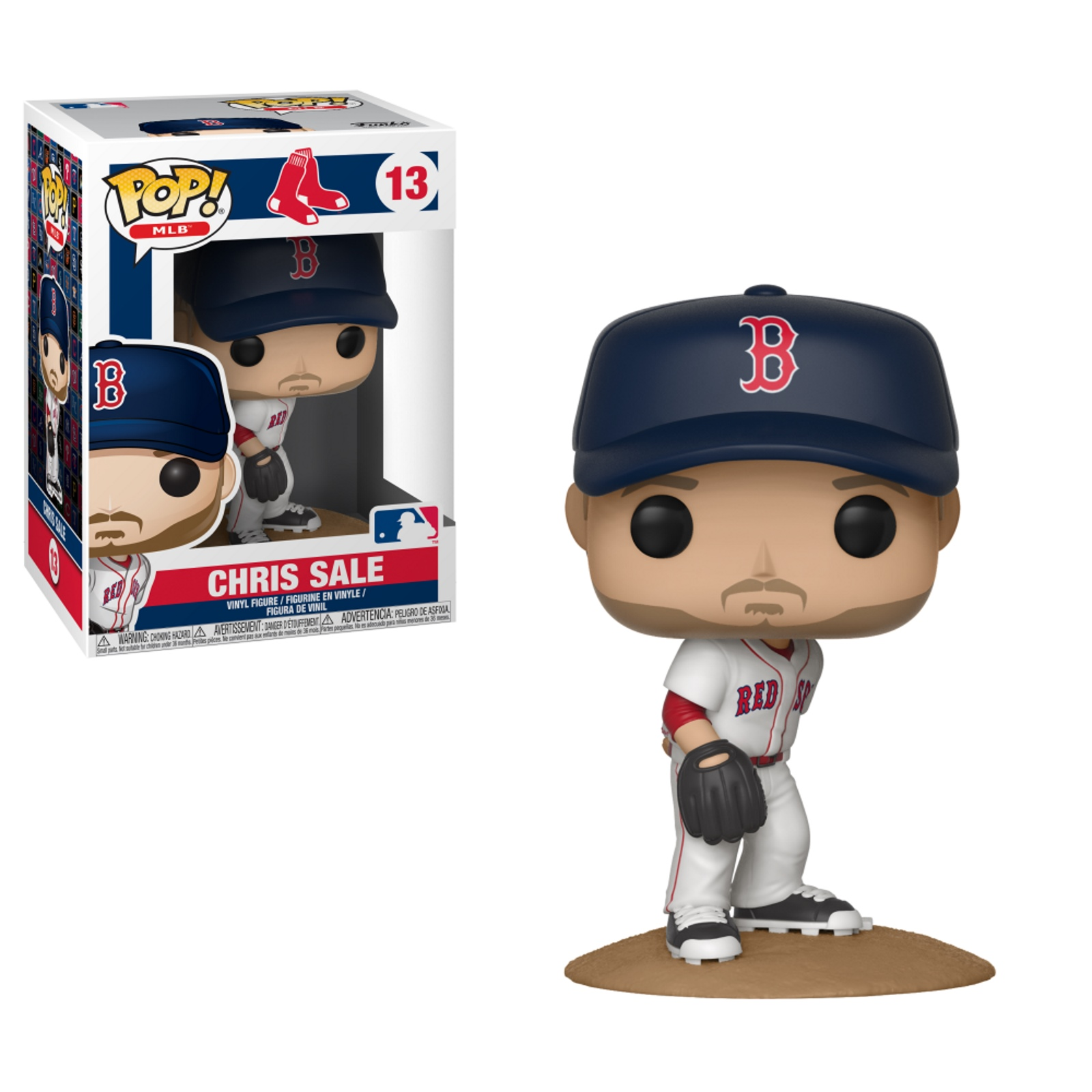 Pop! MLB #13 Chris Sale Vinyl figure Boston Red Sox