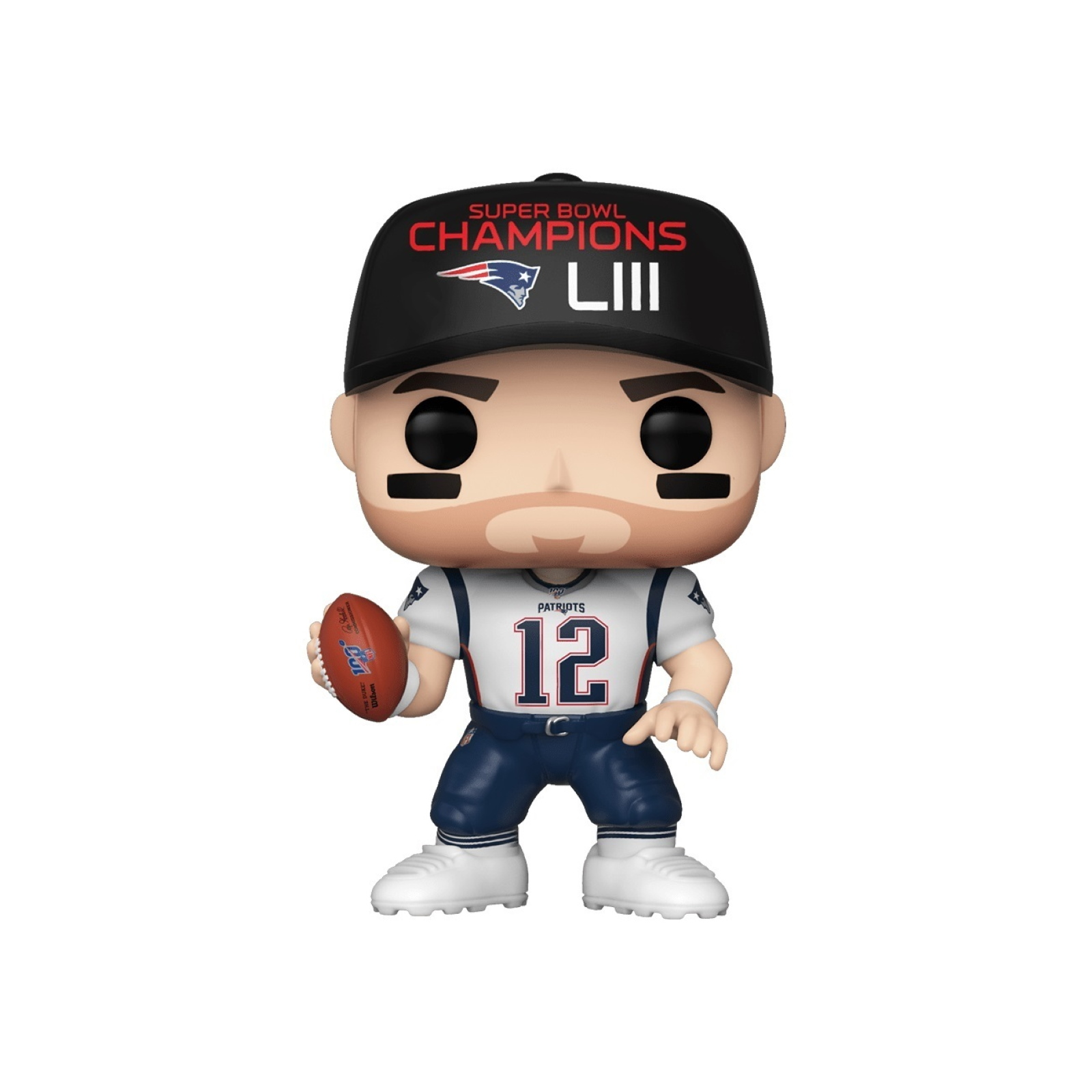 Pop! NFL #137 Tom Brady Vinyl figure New England Patriots SB LIII Champs