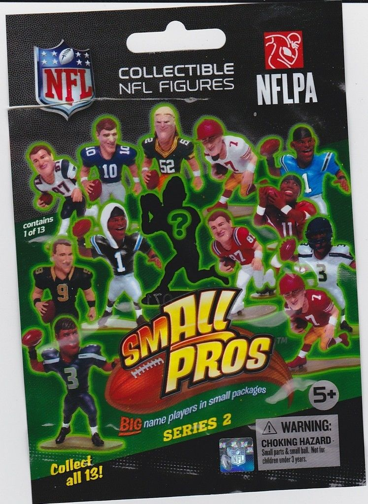 smALL Pros Blind Pack NFL Series 2 McFarlane mini-figures